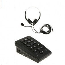 HT300 Call Center Dialpad Monaural Corded Headset ...
