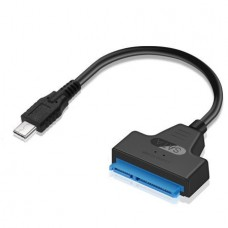USB 3.1 Type-C Male to SATA 22 Pin Adapter Cable F...
