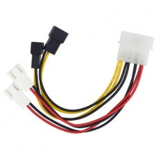 Fan Power Cable Adapter Splitter Connector4-Pin ID...