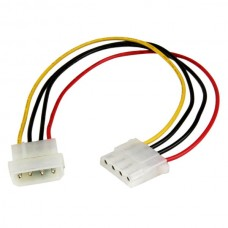 Power Adapter Cable IDE 4 Pin Molex Male to 4 Pin ...