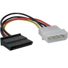 4 Pin IDE Male Molex to SATA Female HDD Power (20c...