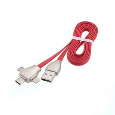3 in 1 Lightning Charge Cable Micro USB, 8 Pin USB...