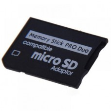 TF To MS PSP Adapter Reader Converter Memory Stick Micro SD Adaptor MS Pro Duo (OEM)