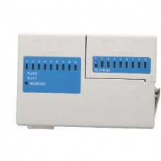 LED Ethernet 4 Port RJ45 RJ11 Cat5 Network LAN Cab...