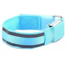Reflective LED Light Arm Armband Strap Safety Belt...