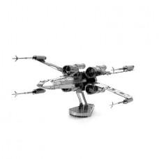 3D Puzzle X-Wing Warplane Star Wars (Metal) (Silve...