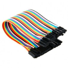 1 Pin Female to Female Jumper Wire Dupont Cable 2....