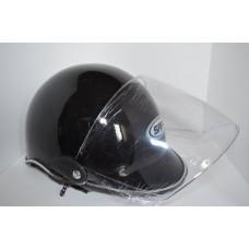 Motorcycle Helmet for Urban Use (Black) (OEM)