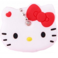 "Key Cover Cap Silicone ""Hello Kitty"" (White) (..."