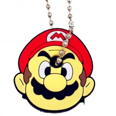 """Key Cover Cap Silicone """"Mario"""" (ΟΕΜ)"""