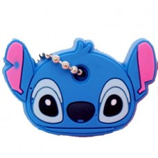 "Key Cover Cap Silicone ""Stitch"" (ΟΕΜ)"