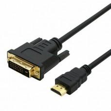DOONJIEY HD 1080P HDMI Male to DVI-D Male Bi-direc...
