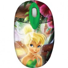 """DISNEY Set Mini Kids Optical Mouse & Mouse Pad """"TingerBell"""" (Wired) (1000dpi)"""