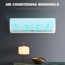 Air Conditioning Windshield Anti-Blow Air Hood 46,2 till 80,4cm (White) (OEM)