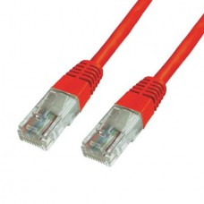 POWERTECH Cable UTP Cat 6e CAB-N012 (3m) (Red)