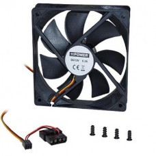 Case Fan 120mm*120mm*25mm with Screws (OEM)
