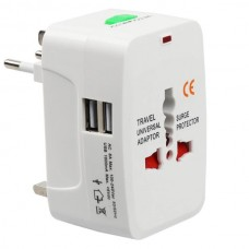 Universal US UK AU EU Travel AC Power Adapter Plug...