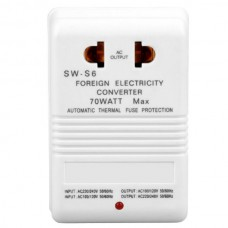 SINGWAY SW-S6 Step Up/Down Voltage Converter 220V ...