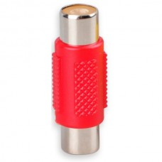 RCA Female to Female Coupler Jack Adapter (Red) (O...