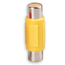RCA Female to Female Coupler Jack Adapter (Yellow)...