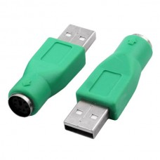 AKYGA Adapter Converter USB Male to PS/2 Female (G...