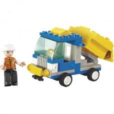 SLUBAN Building Blocks Dump Truck M38-B0178 (65pcs...
