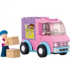 SLUBAN Building Delivery Van M38-B0520 (102pcs)