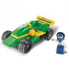 SLUBAN Building Racing Car M38-B0172 (63pcs)