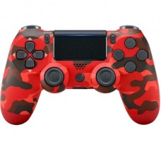DoubleShock 4 Wireless Controller For PlayStation PS4, PSTV, PS Now (Red Camouflage) (OEM)