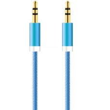 INOS Braided Cable AUX 3.5mm Male to AUX 3.5mm Mal...