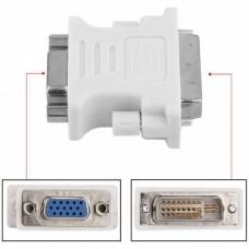 DVI-I 24+5 Male to VGA Female Converter Adapter (W...