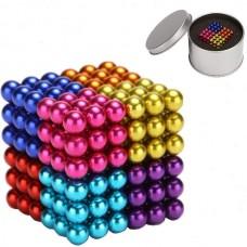 Magnetic Balls DIY Puzzle Toy (216pcs) (5mm) (8 Co...