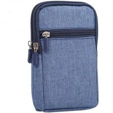Universal Denim Leather Pouch Belt Clip for Smartp...