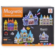 JC TOYS AQ-906 Magnetic Game & Learning (75pcs...