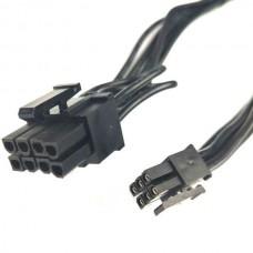 PCI Express Mini 6 Pin to 8 Pin(6+2) PCI-e Video C...