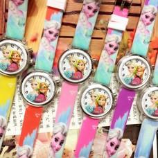"Children's Watch with Multicolor Light ""Princess Elsa"" (Frozen) (OEM)"