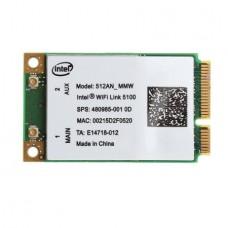 INTEL 5100 WiFi 512AN_MMW 300Mbps Mini PCIe Wirele...