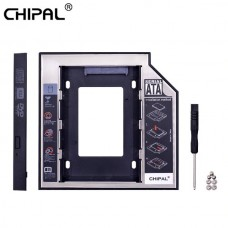 Hard Drive Caddy Case SATA 3 for 2nd HDD HD with L...