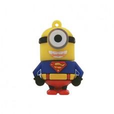 """Minion USB 2.0 Flash Drive """"Superman"""" (4GB)"""
