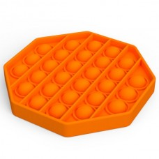 Pop it Fidget Toy (12.5x12.5x1.5cm) (Octagon) (Ora...