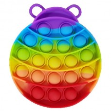 Pop it Fidget Toy (10.0x12.8x1.5cm) (Ladybug) (Mul...