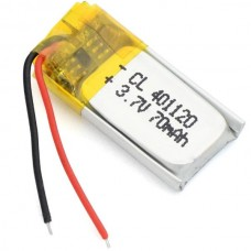 Lithium Polymer 401120 For GPS MP3 Smartwatch Earp...