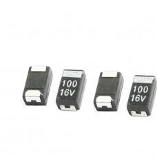 SMD Tantalum Capacitor 3528 16V 100UF 107C B Type ...