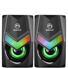 SCORPION SG-118 Wired Stereo Gaming Speakers 2.0 2...