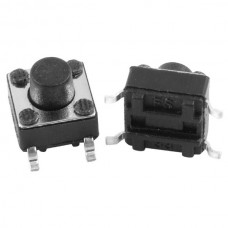 SMD Tact Push Button Switch 4 Pin DC 12V 0.5A (6x6...
