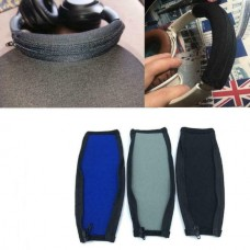 Headphone Replacement Fabric Cover (Blue/Black) (OEM)