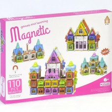 JC TOYS AQ-735 Magnetic Game & Learning (110pc...