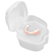 Dental False Teeth Storage Boxes with Hanging Net ...