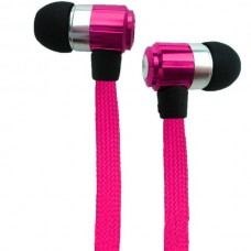 FOREVER SWING Stereo Earphones with Microphone (3.5mm) (Pink)