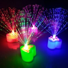 LED Color Changing Fiber Optic Night Light Lamp fo...